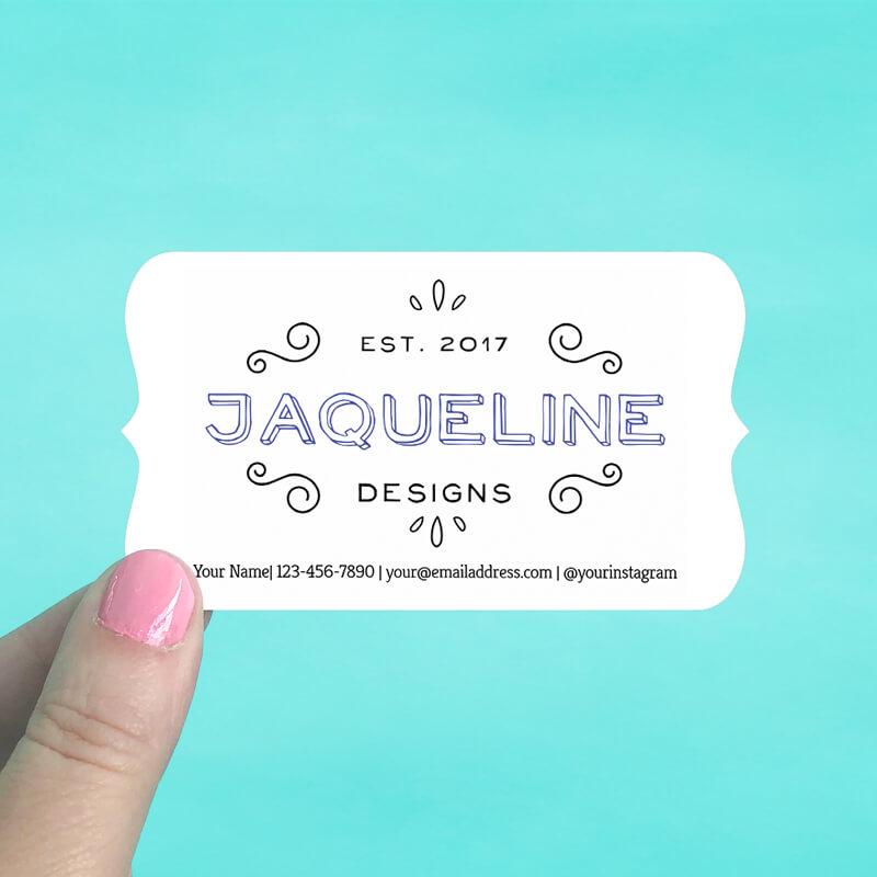 Bracket Business Cards