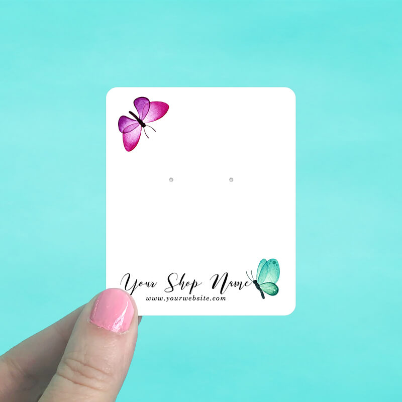 Butterflies Jewelry Display Cards