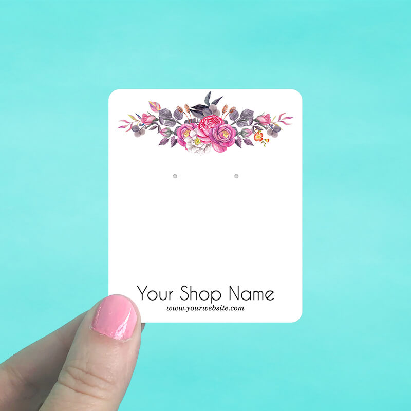 Dark Roses Jewelry Display Cards