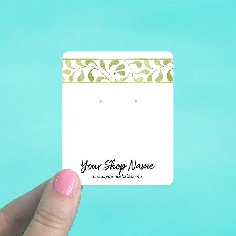 Ivy Bar Jewelry Display Cards