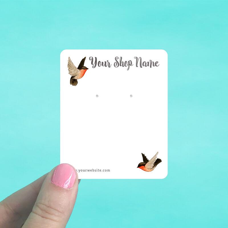 Robins Jewelry Display Cards