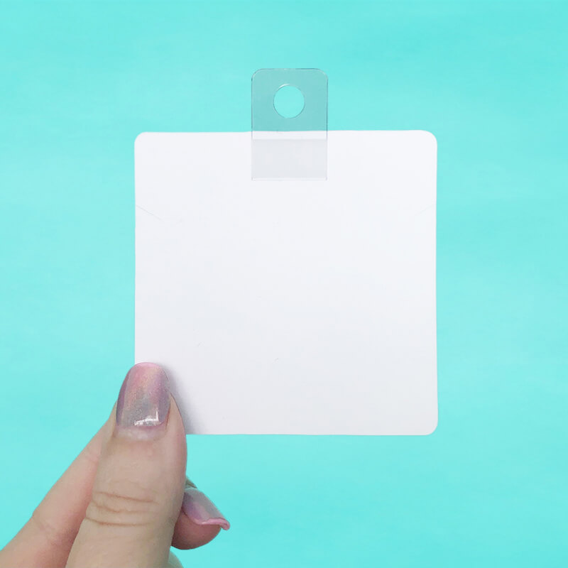 Peg Hole Hanging Card Adapters