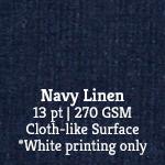 Navy Linen
