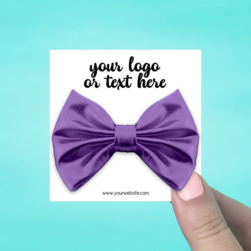 """Set of 42 3 x 3"""" Square Hair Bow Display Cards"""