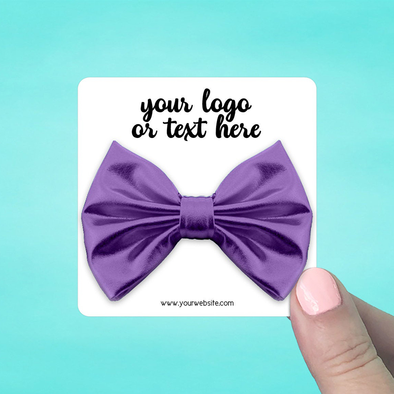 """Set of 42 3 x 3"""" Rounded Square Hair Bow Display Cards"""