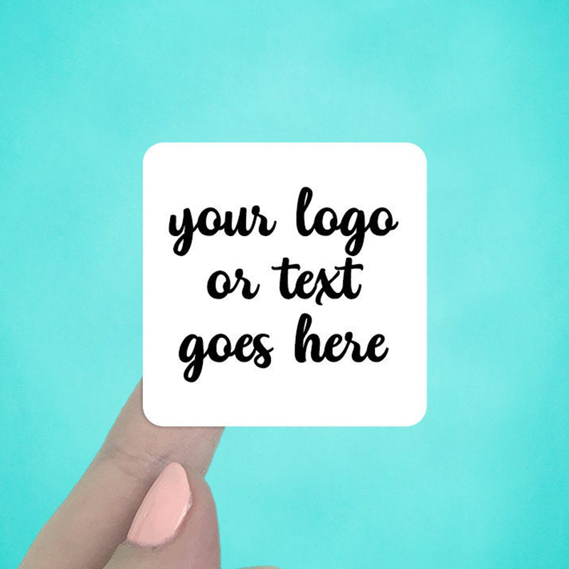 """Set of 24 2 x 2"""" Rounded Square Labels"""